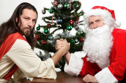 Иисус. Дед Мороз. Санта Клаус.