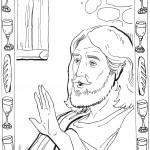 Подготовка к Пасхе. Библейские раскраски.