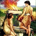 КАИН УБИВАЕТ СВОЕГО БРАТА АВЕЛЯ
