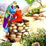 АВРААМ ПРИНОСИТ ЖЕРТВУ