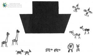 Животные из отпечатков пальцев (Поделки)